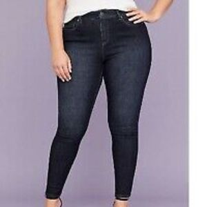 Lane Bryant High Rise Skinny Jeans